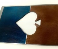 Marcatura laser su metallo marcatura colorata
