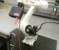 Marcatura industriale con robot