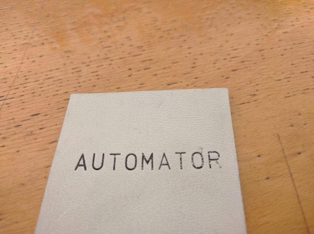 Marcatura a caldo Automator  - Hot foil marking Automator