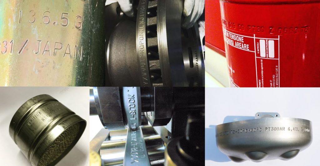 Marcatura cilindri circonferenze Automator