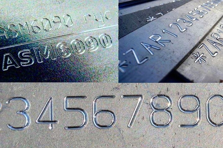 Marking metals scribe Automator